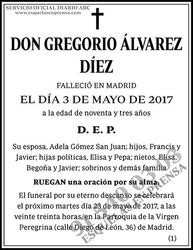 Gregorio Álvarez Díez